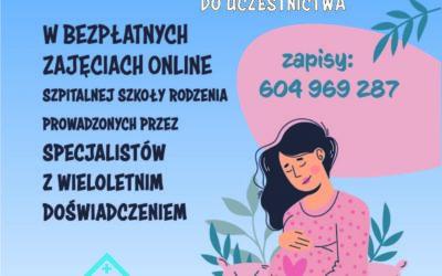 Szkoła Rodzenia online!